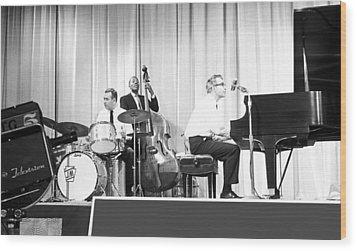 Dave Brubeck Quartet 1967 Wood Print