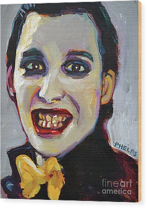 Dave Vanian Of The Damned Wood Print