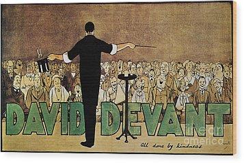 David Devant Poster C1910 Wood Print by Granger