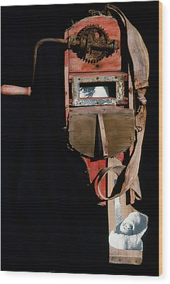 David Smith Wood Print by Bill Bernsen