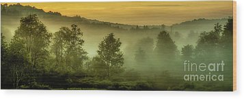 Wood Print featuring the photograph Dawn At Wildlife Management Area by Thomas R Fletcher