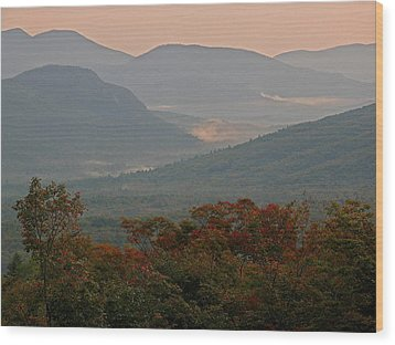 Dawn In The White Mountains Wood Print by Juergen Roth
