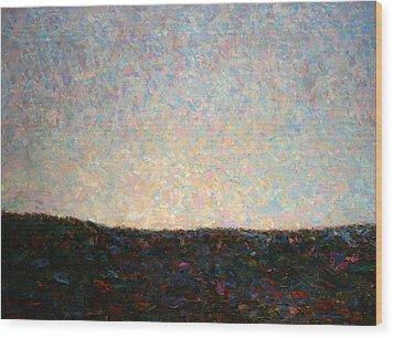 Dawn Wood Print by James W Johnson