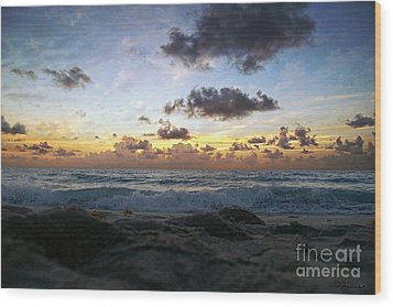 Dawn Of A New Day 141a Wood Print by Ricardos Creations