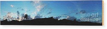 Dawn Of A New Day Treasure Coast Florida Seascape Sunrise 765 Wood Print