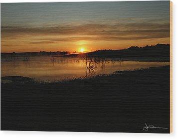 Dawn Of Time Wood Print