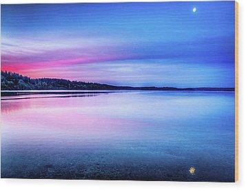 Wood Print featuring the photograph Dawn On Bainbridge Island by Spencer McDonald