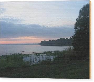 Wood Print featuring the photograph Dawn Over West Cove by Frederic Kohli