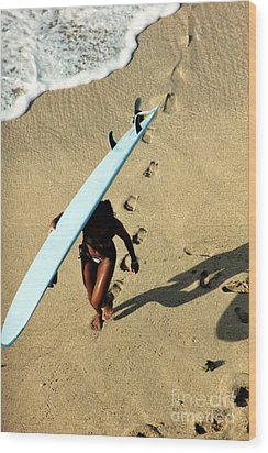 Dawn Patrol Wood Print