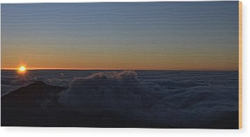 Day Break Wood Print by Tracey Myers