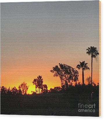 Wood Print featuring the photograph Daybreak by Kim Nelson