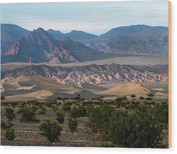 Wood Print featuring the photograph Daylight Pass by Joe Schofield