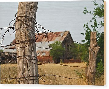 Days Gone By Wood Print by Lisa Moore