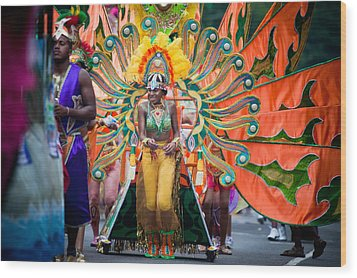 Dc Caribbean Carnival No 15 Wood Print by Irene Abdou