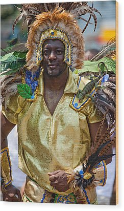 Dc Caribbean Carnival No 21 Wood Print by Irene Abdou