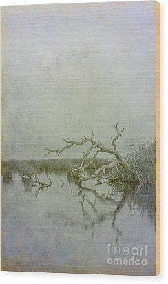 Wood Print featuring the digital art Dead In The Water by Randy Steele