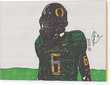 De'anthony Thomas 2 Wood Print by Jeremiah Colley