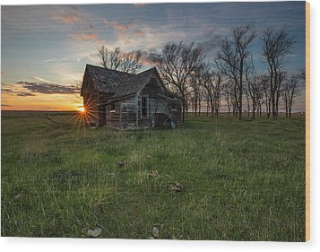 Wood Print featuring the photograph Dearly Departed by Aaron J Groen