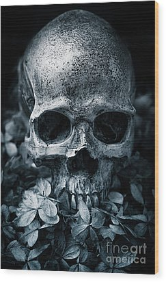 Wood Print featuring the photograph Death Comes To Us All by Edward Fielding