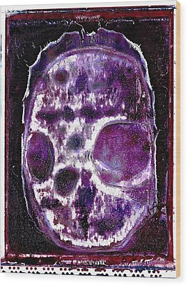 Wood Print featuring the photograph Death Followed By A Question Mark by Josean Rivera