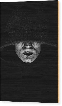 Wood Print featuring the photograph Death by Gabor Pozsgai