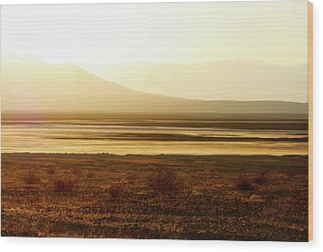 Death Valley - A Natural Geologic Museum Wood Print by Christine Till