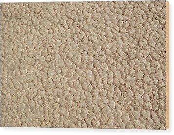 Death Valley Mud Wood Print by Breck Bartholomew