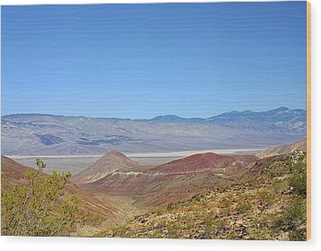 Death Valley National Park - Eastern California Wood Print by Christine Till