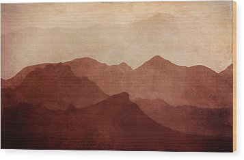 Death Valley Wood Print