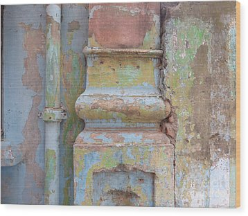 Wood Print featuring the photograph Decay by Jean luc Comperat