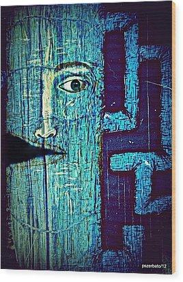 Deep Cut Wood Print by Paulo Zerbato