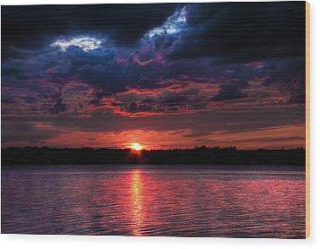 Wood Print featuring the photograph Deep Sky by Michaela Preston