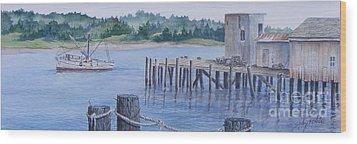 Deer Island  Original...sold Wood Print
