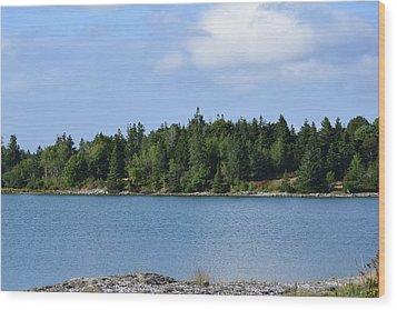 Deer Isle, Maine No. 5 Wood Print
