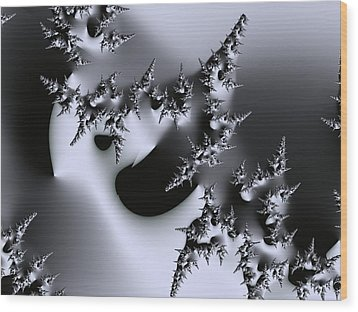 Deer Woman Spirit Wood Print