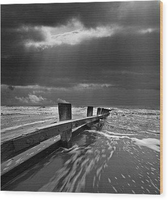 Defensive Wood Print by Meirion Matthias