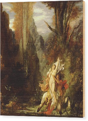 Dejanira  Autumn Wood Print by Gustave Moreau