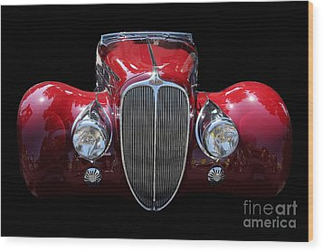 Delahaye Wood Print by Wingsdomain Art and Photography