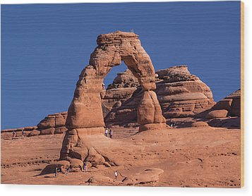 Delicate Arch - 8574 Wood Print
