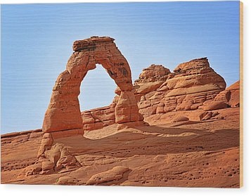 Delicate Arch The Arches National Park Utah Wood Print by Christine Till