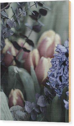 Delicate Springtime Wood Print