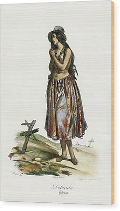Delorida Guham Guam Wood Print by Jacques Arago