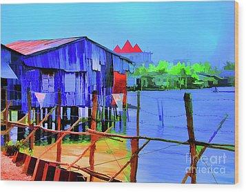 Delta Cove Wood Print