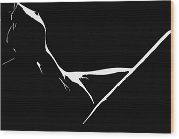 Delta Wood Print by Steve K