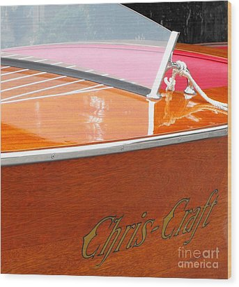 Chris Craft Deluxe Wood Print