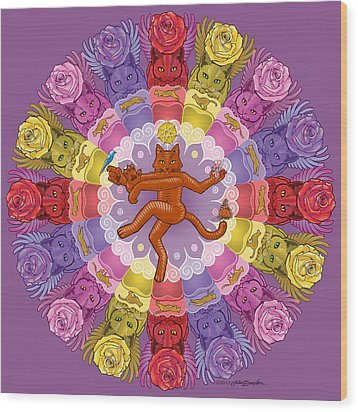 Deluxe Tribute To Tuko Wood Print by John Deecken