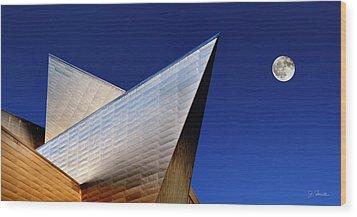 Denver Art Museum No. 2 Wood Print by Joe Bonita