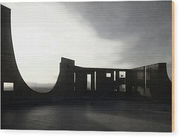 Wood Print featuring the photograph Denver Art Museum Ponti 2 by Marilyn Hunt