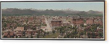 Denver, Colorado, Photochrom By William Wood Print by Everett
