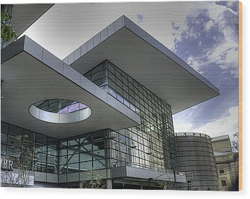 Denver Convention Center Wood Print by David Bearden